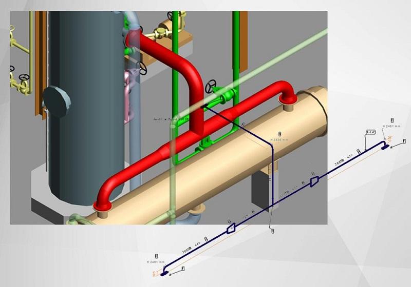 Automatische Erzeugung von Rohrleitungsisometrien | Freie-Pressemitteilungen.de