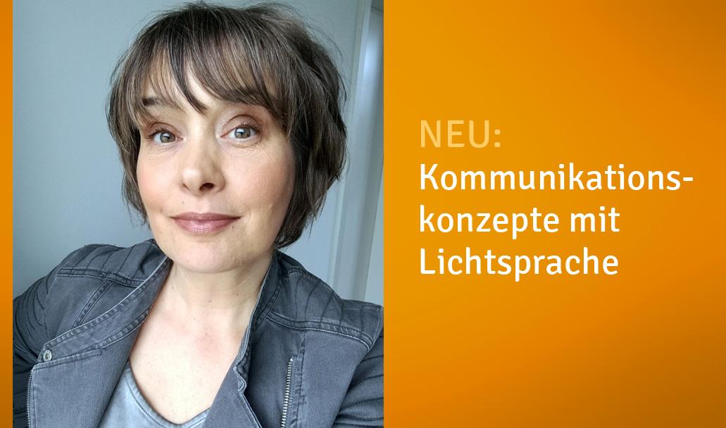 Susanne Wittig eröffnet Lightworkconcept.
