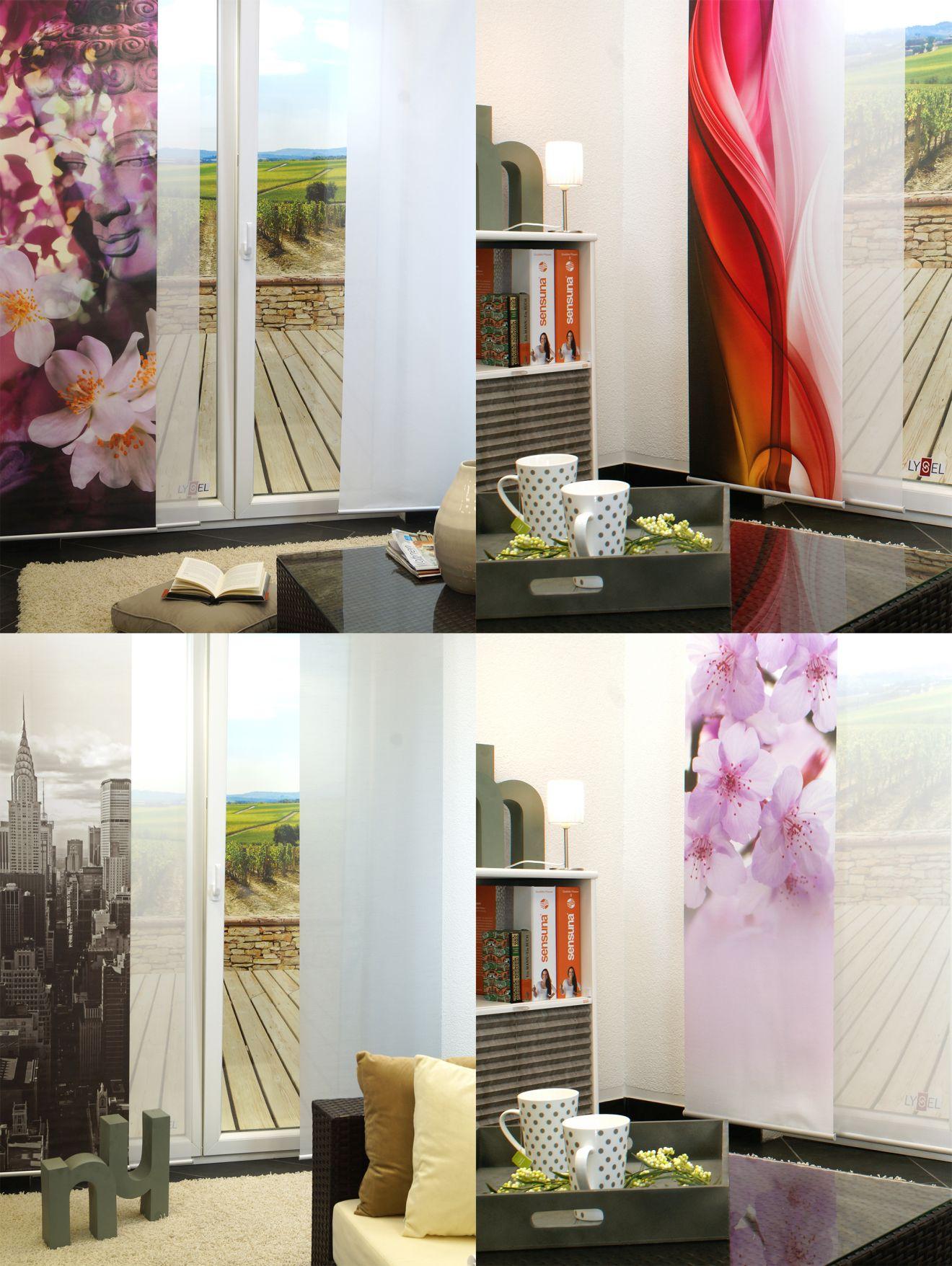 New-York-News.de - New York Infos & New York Tipps | Lysel Flächenvorhänge - eine Auswahl verschoiedenster Stile