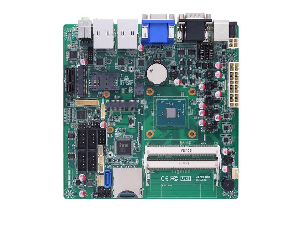 Hardware Infos & Hardware Tipps @ Hardware-News-24/7.de | Mini-ITX Motherboard mit Intel® Celeron® Prozessor N3150 SoC und Triple View (VGA/HDMI/LVDS)