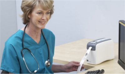 Neue Produkte @ Produkt-Neuheiten.Info | HC100 zum Bedrucken von MRSA-resistenten Patienten-Armbänder