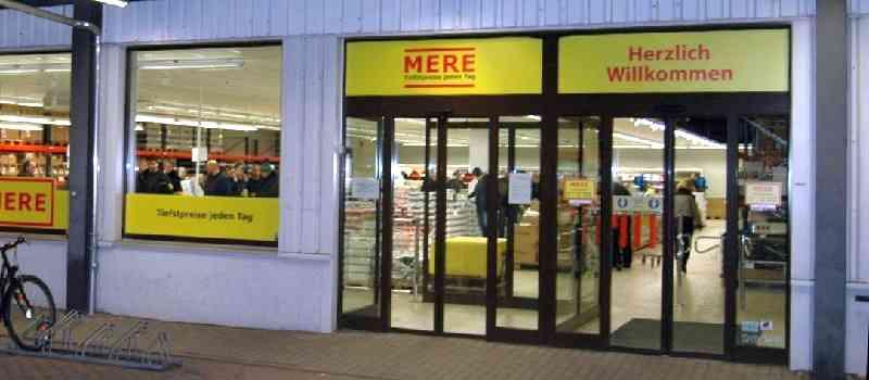 Mere: Der Discounter aus Russland, der mit seinem Leipziger Shop angeblich den Aufbau einer Bedrohung für Aldi & Lidl beginnt!