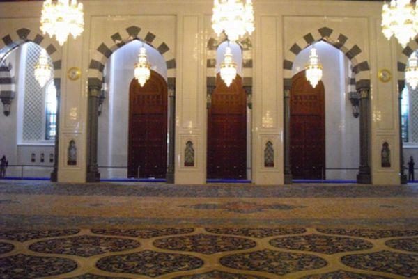 Asien News & Asien Infos & Asien Tipps @ Asien-123.de | Sultan-Qabus-Moschee Maskat, Oman Iranee