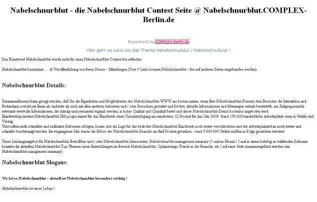 PHPNuke Service DE - rund um PHP & Nuke | Nabelschnurblut