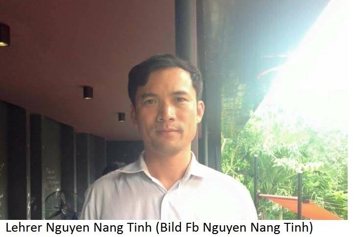 Ost Nachrichten & Osten News | Lehrer Nguyen Nang Tinh wegen Facebook-Post verhaftet