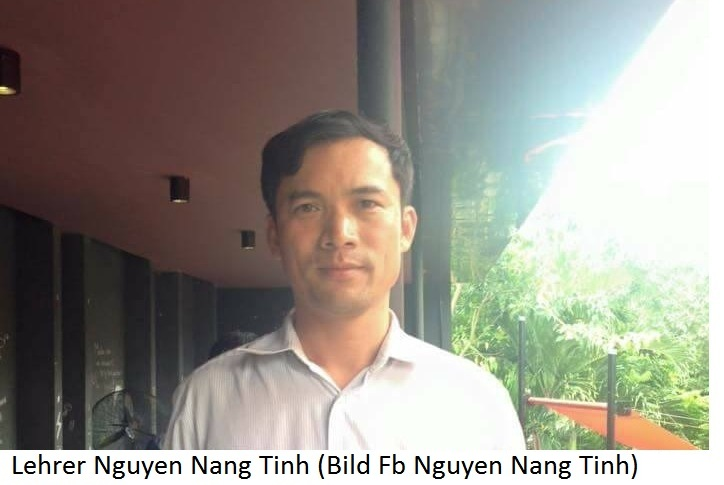 Deutsche-Politik-News.de | Lehrer Nguyen Nang Tinh wegen Facebook-Post verhaftet
