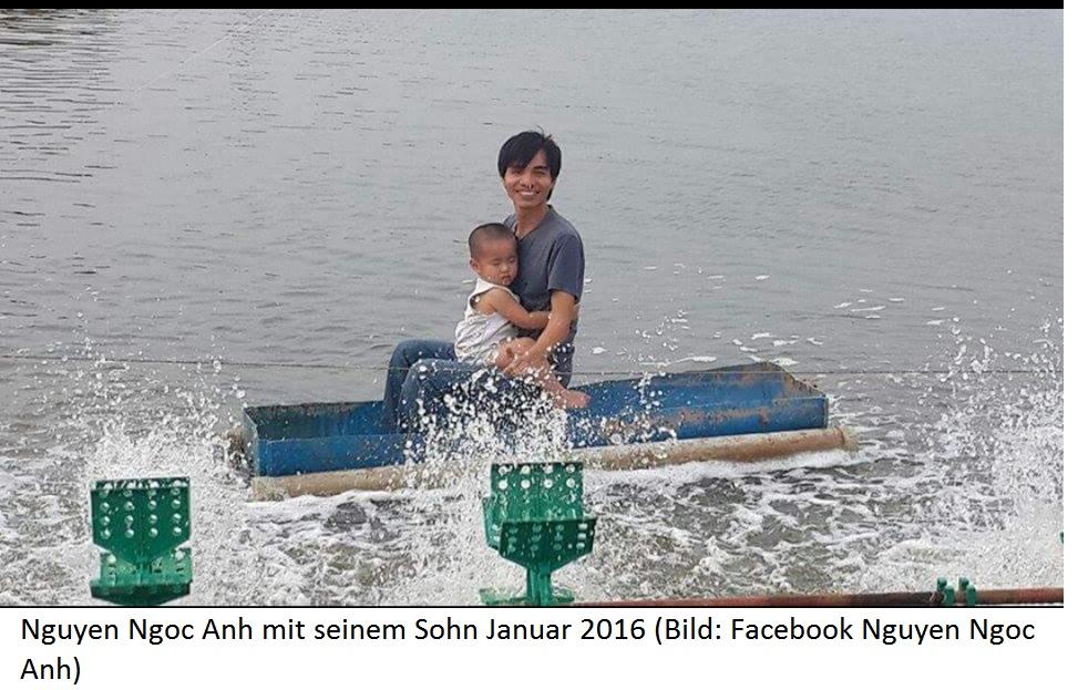 Nguyen Ngoc Anh mit seinem Sohn Januar 2016 | Freie-Pressemitteilungen.de