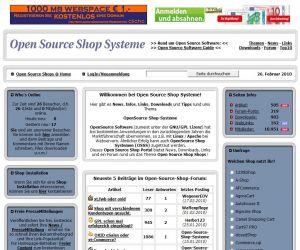 Freie Pressemitteilungen | Open Source Shops !