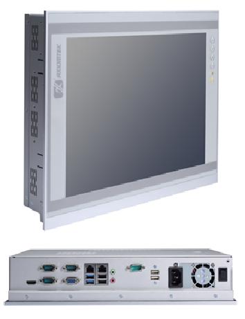 "Internet Portal Center | Axiomtek P1177S-881 Intel® Core™ i7/i5/i3 & Celeron® Prozessor  der vierten Generation  17"" Industrie-Touch-Panel-Computer mit DualView"