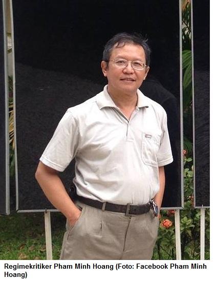 Forum News & Forum Infos & Forum Tipps | Regimekritiker Pham Minh Hoang (Foto: Facebook Pham Minh Hoang)
