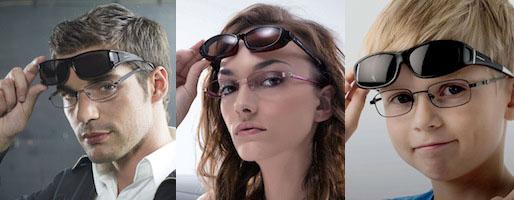 New-York-News.de - New York Infos & New York Tipps | Polaroid Suncovers machen aus jeder Brille eine Sonnenbrille.