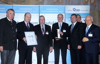 Rheinland-Pfalz-Info.Net - Rheinland-Pfalz Infos & Rheinland-Pfalz Tipps | Flottweg erhält den Bayerischen Mittelstandspreis