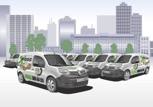 Auto News | Auch bei den Flottenbeschriftungen wird zunehmend Wert auf einen individuellen Look gelegt
