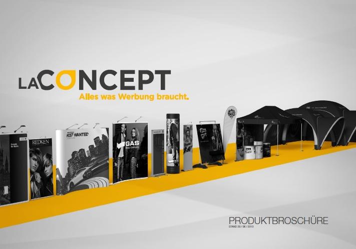 Tickets / Konzertkarten / Eintrittskarten | LA CONCEPT Produktbroschüre