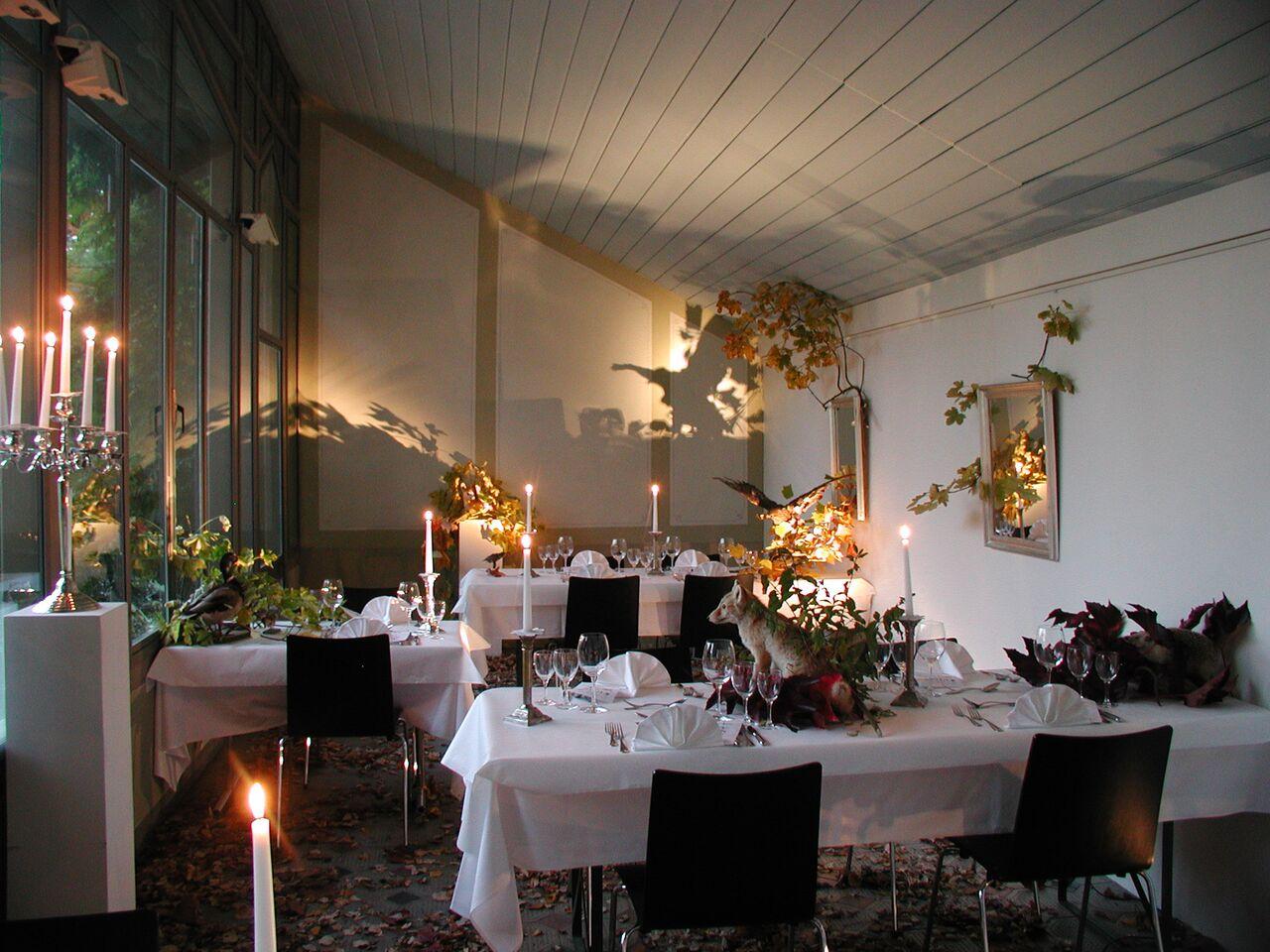 News - Central: Das Schloss Restaurant bietet saisonale und regionale Kost
