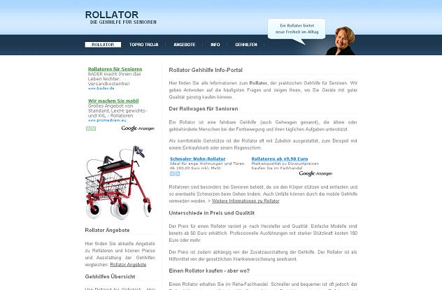 Freie Pressemitteilungen | Rollator / Gehhilfe
