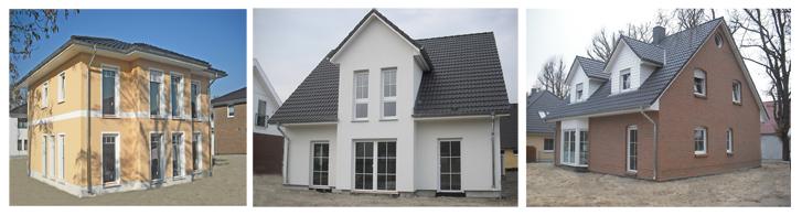 Berlin-News.NET - Berlin Infos & Berlin Tipps | Eine Villa Lugana, ein Stadt- und ein Landhaus können am 29./30. März in Dallgow-Döberitz besichtigt werden. Foto: Roth-Massivhaus
