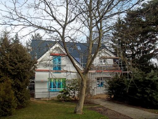 Dieses Landhaus kann am kommenden Wochenende in 16515 Oranienburg besichtig werden. Foto: Roth Massivhaus