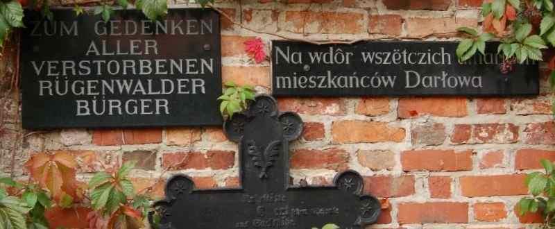 ZivilInternierte-in-Russland.de | Gedenktafel an der St.-Gertrud-Kirche Rügenwalde