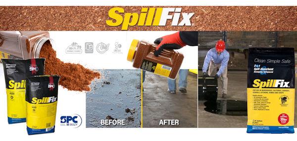 Internet Portal Center | SpillFix Unversal-Bindemittel für Öl und andere Flüssigkeiten