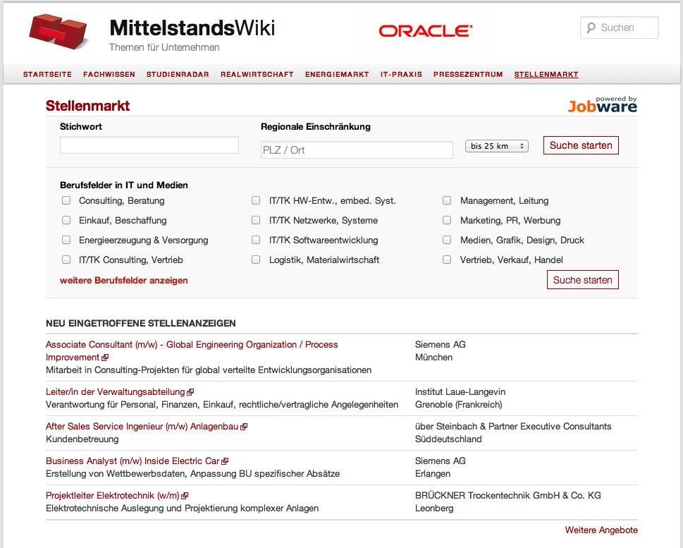 Prag-News.de - Prag Infos & Prag Tipps | Der neue Stellenmarkt im MittelstandsWiki