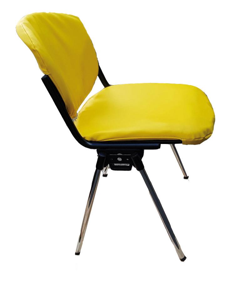 Freie Pressemitteilungen | Der nicht brennbare Stuhl ist in mehreren Farben lieferbar. (Foto: GEFA Hygiene-Systeme GmbH & Co. KG)