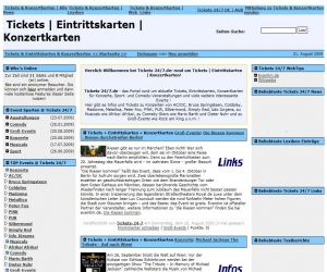 Open Source Software News | Tickets, Eintrittskarten & Konzertkarten