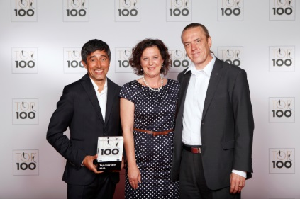 News - Central: Uwe Krummenoehler, CEO der AVL Emission Test Systems GmbH bei der Preisverleihung TOP 100 Innovator