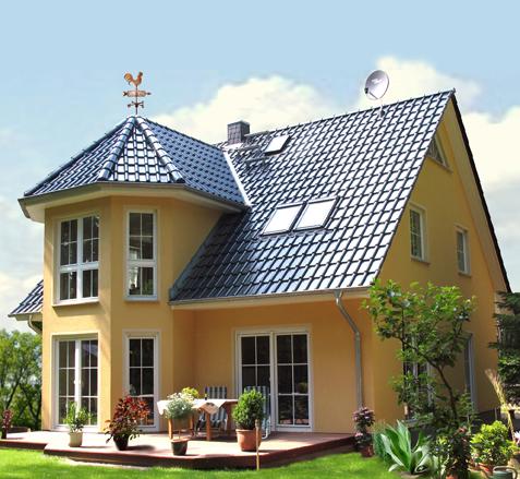 Ein Turmhaus 152 wie dieses kann am kommenden Wochenende in 15366 Neuenhagen besichtigt werden. Foto: Roth-Massivhaus