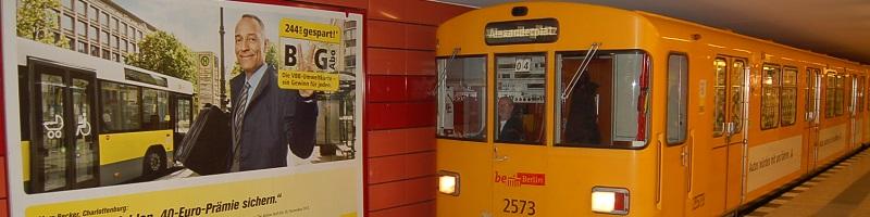 Deutsche-Politik-News.de | U-Bahn Berlin 2012