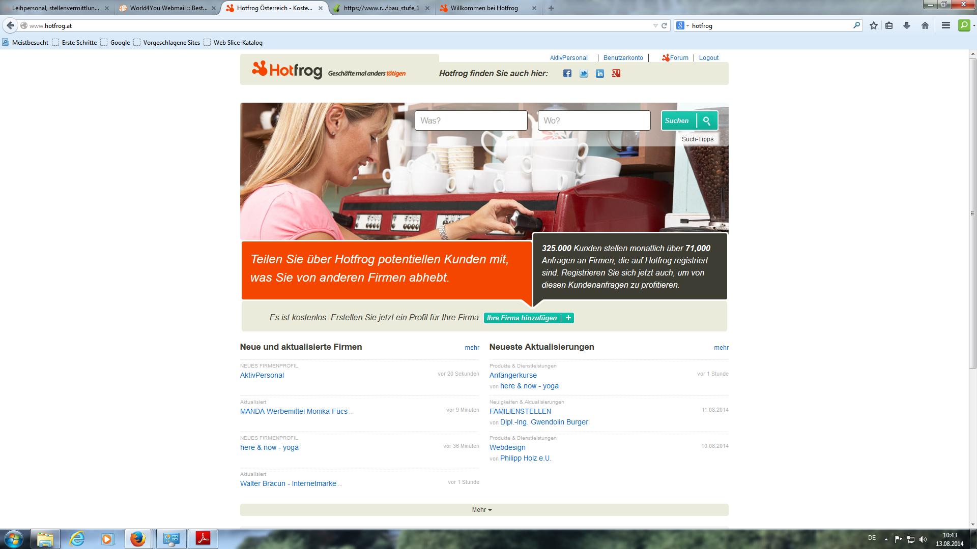 Internet Portal Center | Ergebnisse der NaturEnergiePlus Umfrage