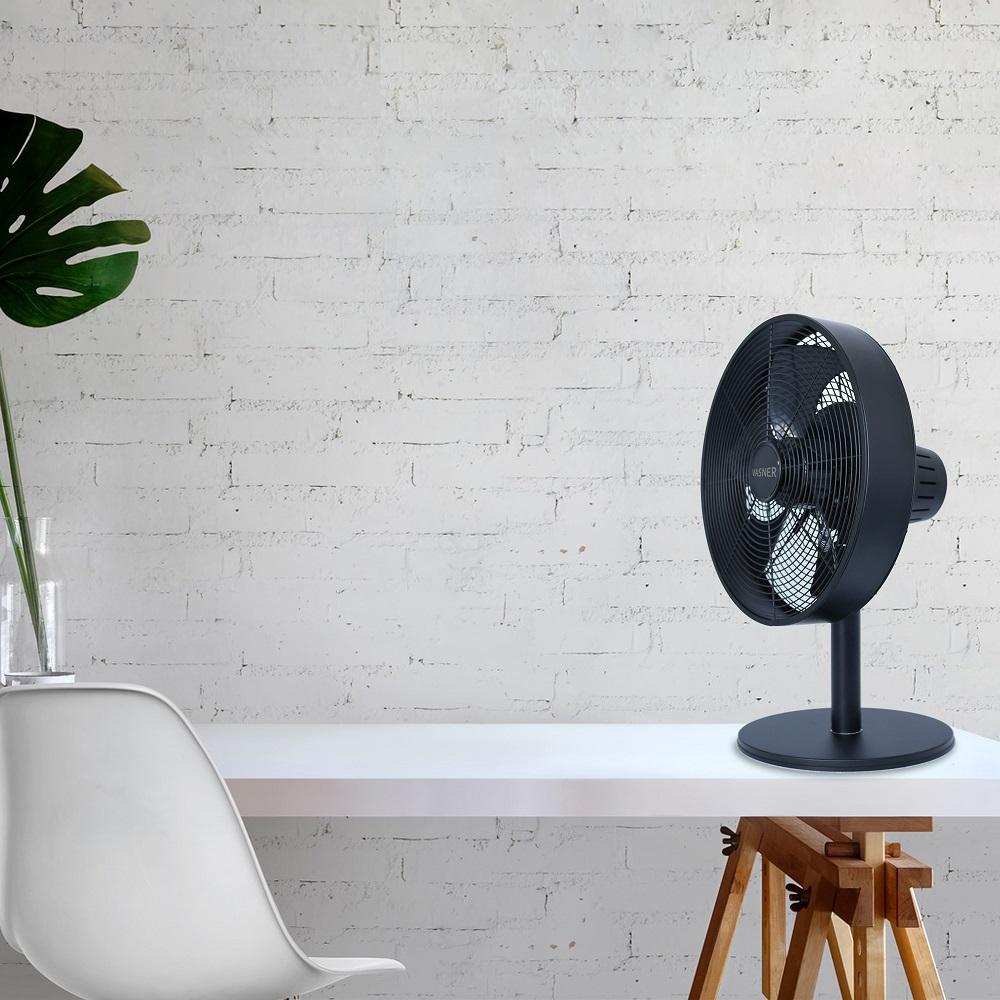 News - Central: Der neue VASNER Ventury T Design Ventilator für den Tisch