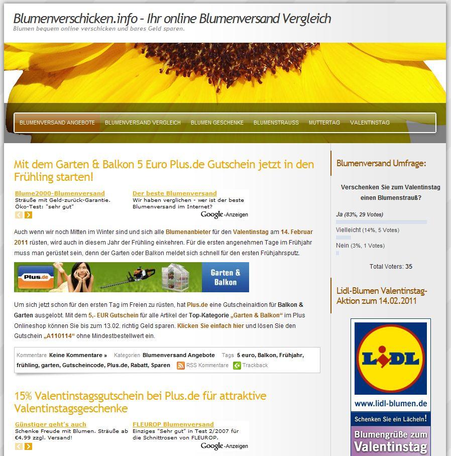 Gutscheine-247.de - Infos & Tipps rund um Gutscheine | Blumenversand Online - Valentinstags Schnäppchen