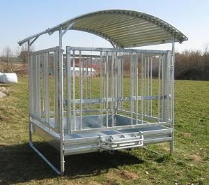 Landwirtschaft News & Agrarwirtschaft News @ Agrar-Center.de | Heuraufen für Pferde vom Zaun und Stalldepot