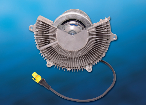 Die Visctronic®-Lüfterkupplung von BorgWarner reagiert unmittelbar auf den Kühlbedarf des Motors.