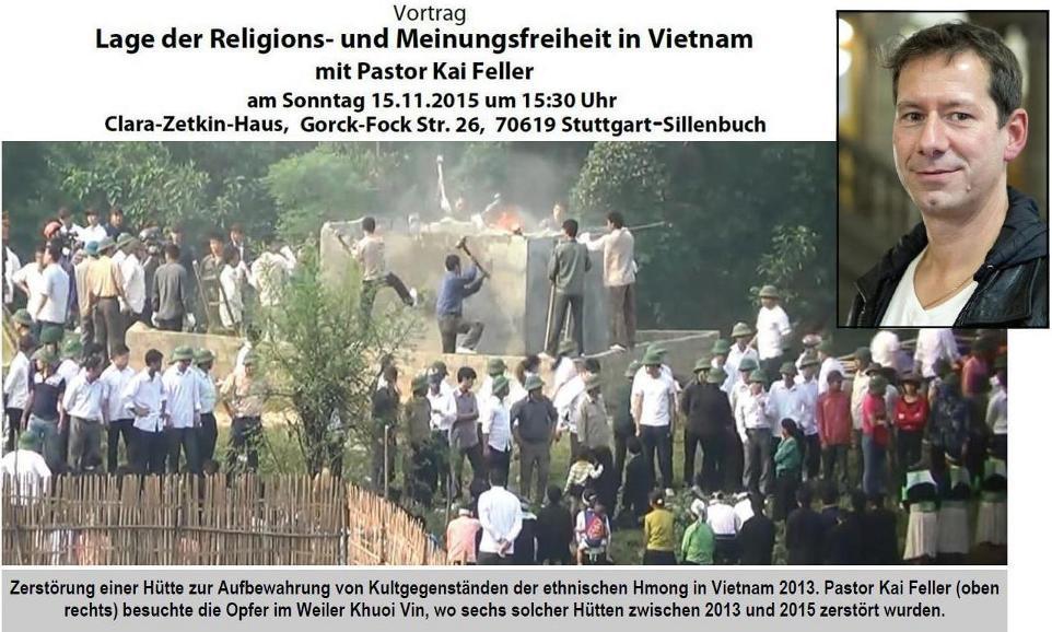 Internet Portal Center | Besonders erschreckend ist die Situation der Christen aus den ethnischen Minderheiten in Vietnam