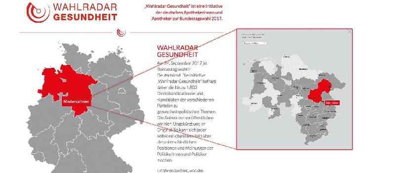 Deutsche-Politik-News.de | Wahlradar Gesundheit