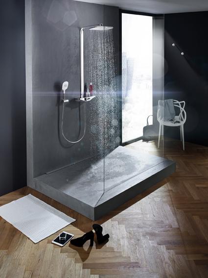 Erholen, entspannen, Kraft tanken – das Wellfit-Duschsystem HANSAEMOTION fördert genau das.  | Freie-Pressemitteilungen.de