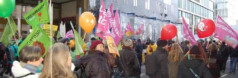 Deutsche-Politik-News.de | Wir haben es satt - Demo Berlin - 2014