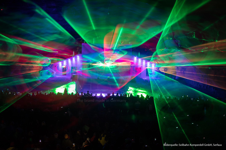 Medien-News.Net - Infos & Tipps rund um Medien | Lasershow 2.0 - Das Spektakel in den Bergen Österreichs