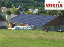 Alternative & Erneuerbare Energien News: Foto: Fotomontage Enerix-Solarbeteiligung Projekt Nittendorf.