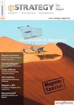 Open Source Shop Systeme | Open Source Shop News - Foto: Zum Start des eStrategy-Magazins werden unter allen Lesern, die das Magazin bis 23.01.2010 kostenlos downloaden, attraktive Preise im Gesamtwert von über EUR 6.000,- verlost.