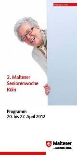 SeniorInnen News & Infos @ Senioren-Page.de | Foto: Über 50 Veranstaltungen rund um das Leben im Alter: Programm der Malteser Seniorenwoche Köln.