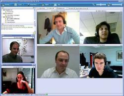 Freie Software, Freie Files @ Freier-Content.de   OpenSource Software News - Foto: Tixeo HD Multipoint Video-, Audio-, Datenkonferenz.