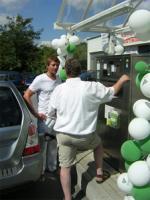 Autogas / LPG / Flüssiggas | Foto: An der Brachter Straße in Ratingen empfängt Roy Ruschke nun Autogaskunden an der jetzt eröffneten celos-Tankstelle.