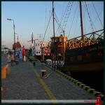 ZivilInternierte-in-Russland.de | Foto: An der Hafeneinfahrt Kolbergs.