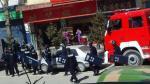 Ost Nachrichten & Osten News | Foto: Bewaffnete Polizei rückt in Ngaba an.