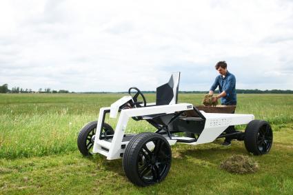Technik-247.de - Technik Infos & Technik Tipps | Foto: Leicht, leise, energieeffizient - das Nutzfahrzeug KULAN demonstriert, wie neue Technologien und Netzwerke die moderne Landwirtschaft mitgestalten können.