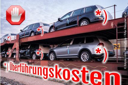 Auto News | EuGH: Überführungskosten dürfen nicht in Fußnoten versteckt werden.