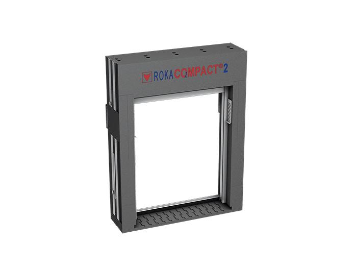 Thueringen-Infos.de - Thüringen Infos & Thüringen Tipps | ROKA-CO2MPACT® 2 wird zerlegt geliefert und kann somit einfach über das Gerüst oder das Treppenhaus zur Fensteröffnung transportiert werden.